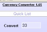Currency Converter Maxthon Plugin
