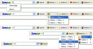 Demo toolbar for Internet Explorer (IEDemoToolbar)