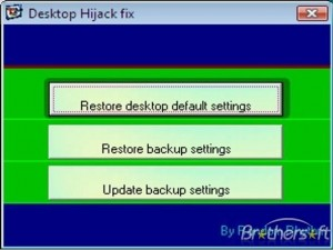 Desktop Hijack Fix