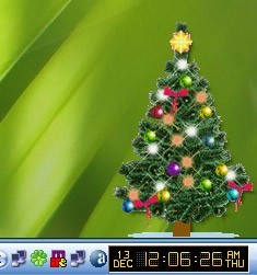 Desktop Xmas Tree