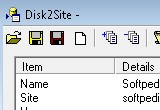 Disk2Site