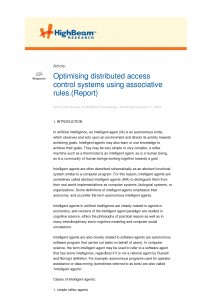Distributed Access Control System