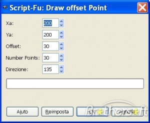Draw Offset Point