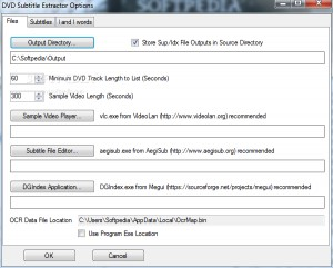 DVD Subtitle Extractor