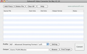 Eahoosoft Video Converter