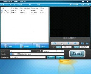 Earth Bluray To MP4 Converter