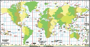 Earth time zone