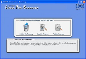 EASEUS Linux File Recovery