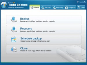 EASEUS Todo Backup Advanced Workstation
