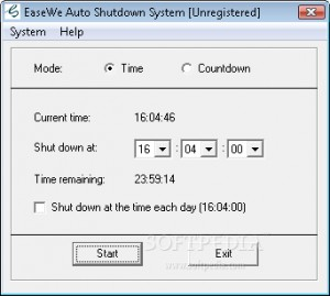 Easewe Auto Shutdown System