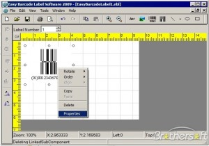 Easy Barcode Label Software