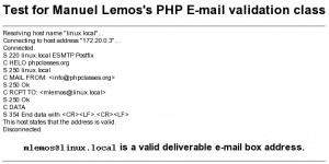 Email Address Validator