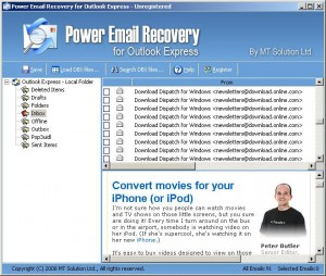 Email Recovery for Outlook Express