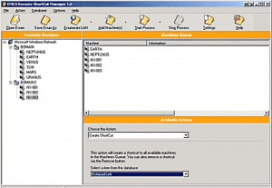 EMCO Remote ShortCut Manager