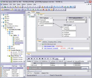 EMS SQL Query for DB2