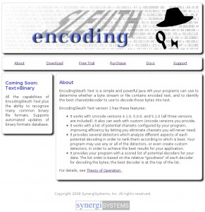 EncodingSleuth Text