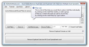 Excel Delete Remove Duplicates and Duplicate Cells Data from Multiple Excel Spreadsheets