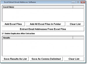 Excel Extract E-mails from Excel Spreadsheets