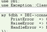 Exception::Class::DBI