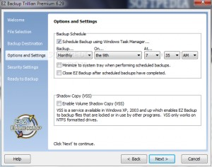 EZ Backup Trillian Premium