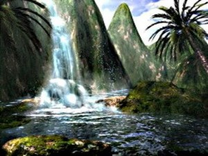 Fantasy Waterfall 3D