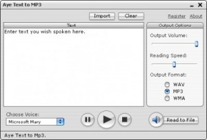 Fast Text to MP3