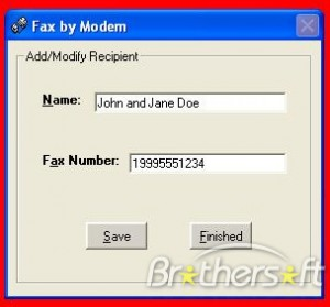 Fax by Modem