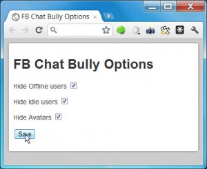 FB Chat Bully for Firefox