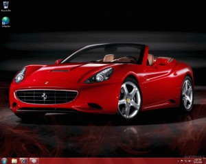 Ferrari Windows 7 Desktop Theme