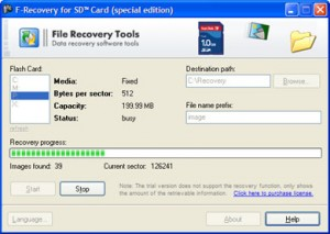 FileRecovery for SD