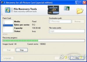 FileRecovery for xD-Picture Card