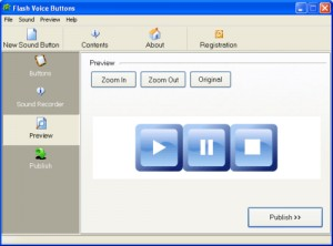 Flash mp3 Buttons