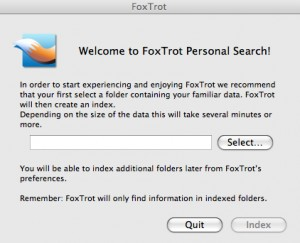 FoxTrot Personal Search