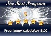 Free Funny Calculator SpX