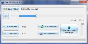 Free MP3 Cutter 1 0 1 for Windows  Ftparmy com