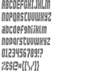 Free Security Font