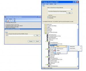 Get Remote File System Rights