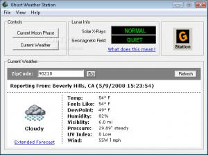 Ghost Weather Station
