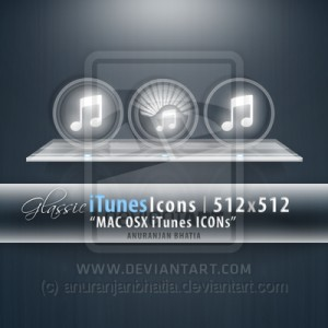 Glassic iTunes Icons