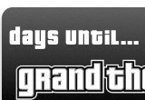 GTA IV Countdown Widget
