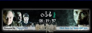 Harry Potter and The Half Blood Prince Movie Countdown