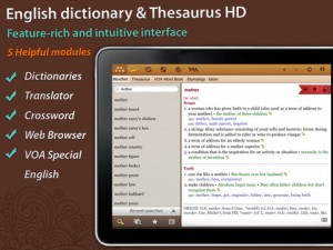 HElexicon English Dictionary And Thesaurus