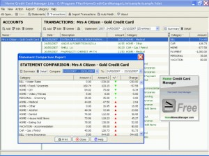 Home Credit Card Manager