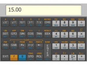 hp15c Advanced Scientific Calculator