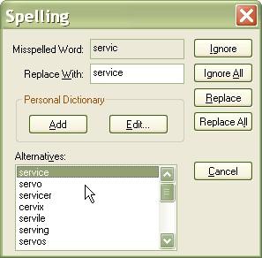 HS Spell Checker