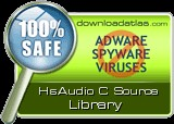 HsAudio C Source Library