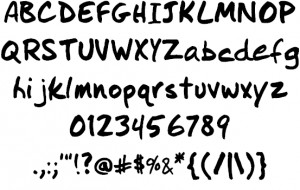 I Did This Font