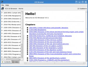 ICD Browser