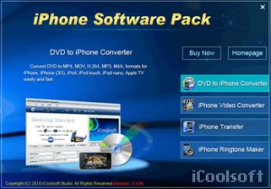 iCoolsoft iPhone Software Pack