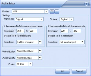 Ideal DVD to MP4 Converter